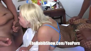 country white girl hollyberry gangbanged by BBC redzilla p2