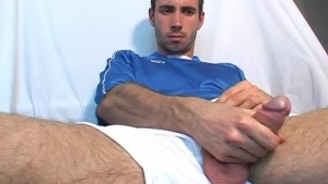 I'm a soccer player, i don't wank you to wank my enormous cock ok?