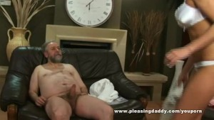 Chubby Mature Guy Fuck His Trophy Wife