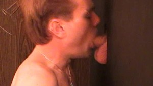 Young guy makes a good gloryhole - Factory VideoJM Productions