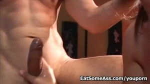 Super Sexy Hot Blonde Sindy Lange loves eating tasty Bunghole for a sticky CUM Facial