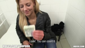 Mofos - Hot public bathroom pickup