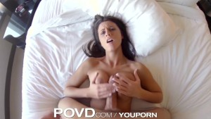 POVD Titty fuck in bath leads to soapy suck and fuck
