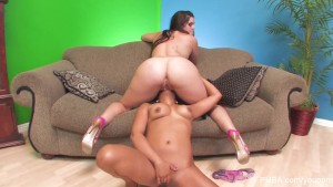 Hot Lesbian PUBA Fun