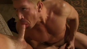 Blonde guy fucking his friend - Bacchus