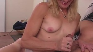 Babe Takes Load On Her Chest - Train Wreck