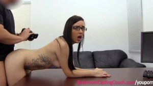 Anal Lover in Glasses Fucked n Facialed