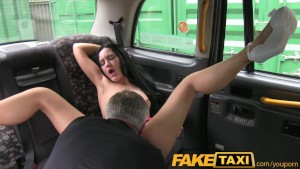 FakeTaxi Naughty Liverpool girl gets dirty