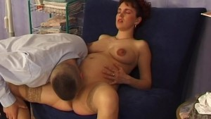 pregnant babe needs rough