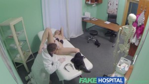 FakeHospital horny doctor gives sexy slim blonde multiple orgasms