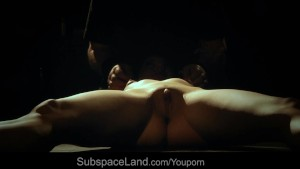 Young slut disciplined hard