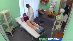 FakeHospital doctors trusty cock ignores the language barrier and makes sexy russian scream with pleasure