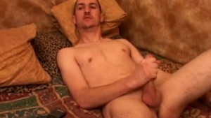 Amateur straight twink cum on his face