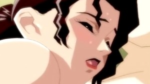 Cock-hungry anime chick rides till orgasm
