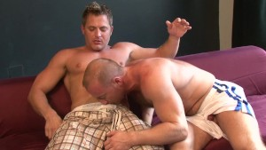 Hairy Ginger Gets A Big Load - Lucas Entertainment