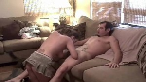 MILF Couch Quickie Is Fine