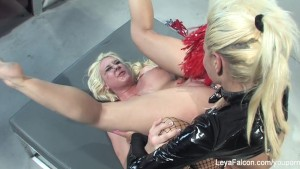 Leya Falcon gets dominated and roughed up by Nikita