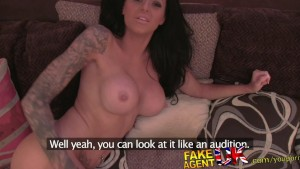 FakeAgentUK Good hard fucking for sexy tattooed Brit