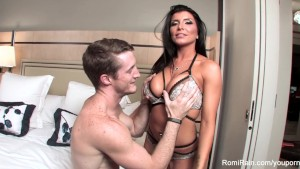 Behind the Scenes from a porn set with Romi Rain and Brick Danger