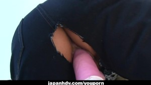 Asian girl likes to be group fucked