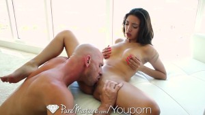 HD - PureMature Sexy latina can't wait to get fucked hard