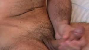 Testing his cock: Sylvain french hunk get shaked his cock !