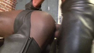 Black on black Slime - Damon Doggs Cum Factory