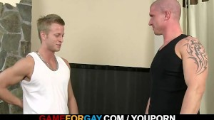 He seduces his hunky personal trainer