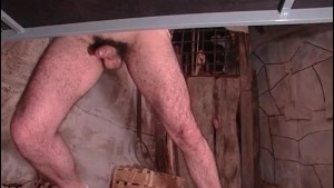 Cock addicted man and his toy