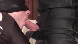 Ass spanking and cock sucking