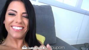HD - CastingCouch-X Wild Adriana Chechik fucked on casting couch