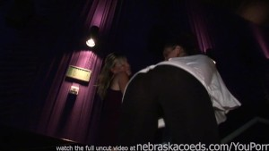 club girls flashing tits and up the skirt to see their tight panties while danciing