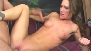 Brunette First Time Deepthroating - Naughty Risque