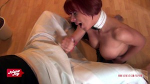 Kinky Blow Job - Amateurschlampe Jolyne Joy.