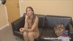 Mia Gold s First Porno Ever With The FakeProducer
