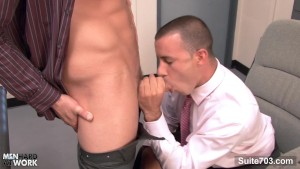 Office gays fucking asses on the desk