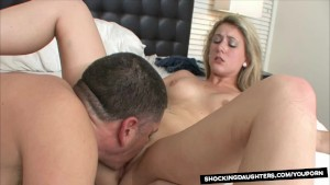 Little StepSister Lends A Hand To Older Brother