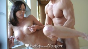 Kendra Lust is drooling to suck cock - PureMature