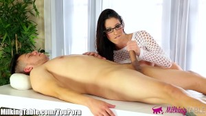 MilkingTable Big Tits Dava Foxx Blowjob Therapy