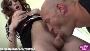 ShemaleIdol TS Ass Fucked by Big Cock