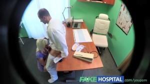 FakeHospital Horny blonde milf wants doctors cum inside her