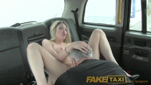 FakeTaxi Super hot blonde with a great body loves c