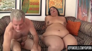 Fatty Latina BBW Lorelai Givemore riding a fat dick