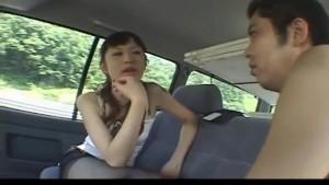Tomoka Matsunami shaves penis