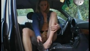 Masturbation In A Car - Julia Reaves