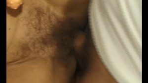 Delving deep into that hairy pussy - Julia Reaves