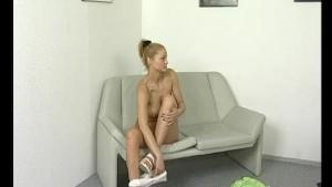 Blonde MILF shows him everything - Julia Reaves