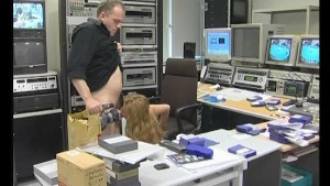 Blowing off his steam at work - Julia Reaves