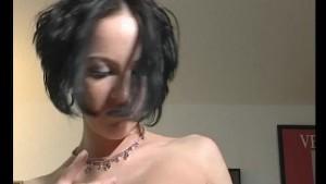 skinny raven girl stip's - Julia Reaves