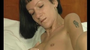 MILF fucking herself with her dildo - Julia Reaves